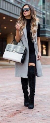 Outfits With Long Vests – thelatestfashiontrends.com