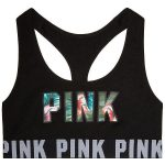 PINK Cotton Bra Top ($23) ❤ liked on Polyvore featuring intimates, bras, under...