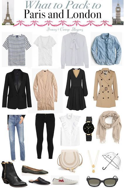 Packing List: What to Pack to Paris