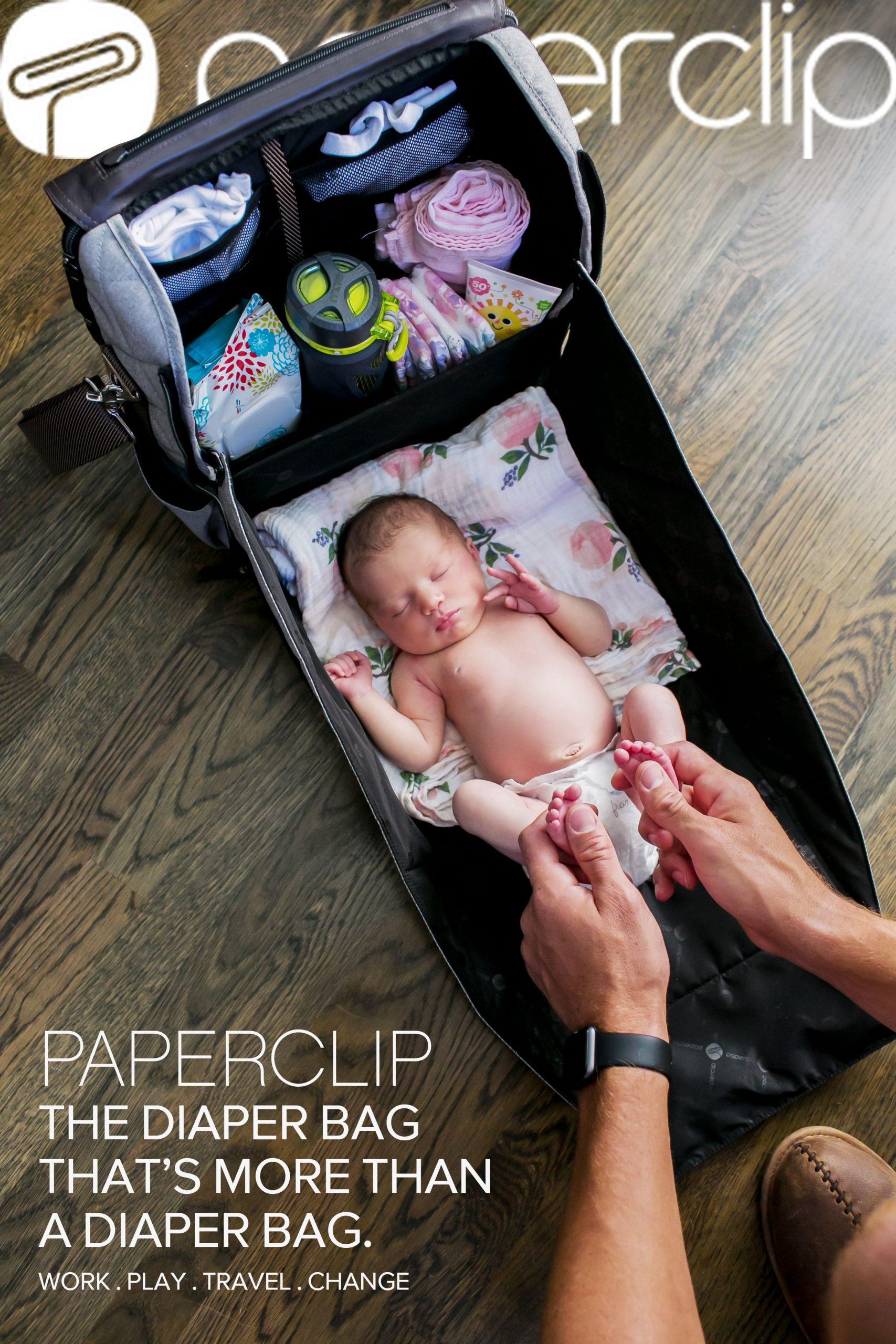 Paperclip Diaper Bags