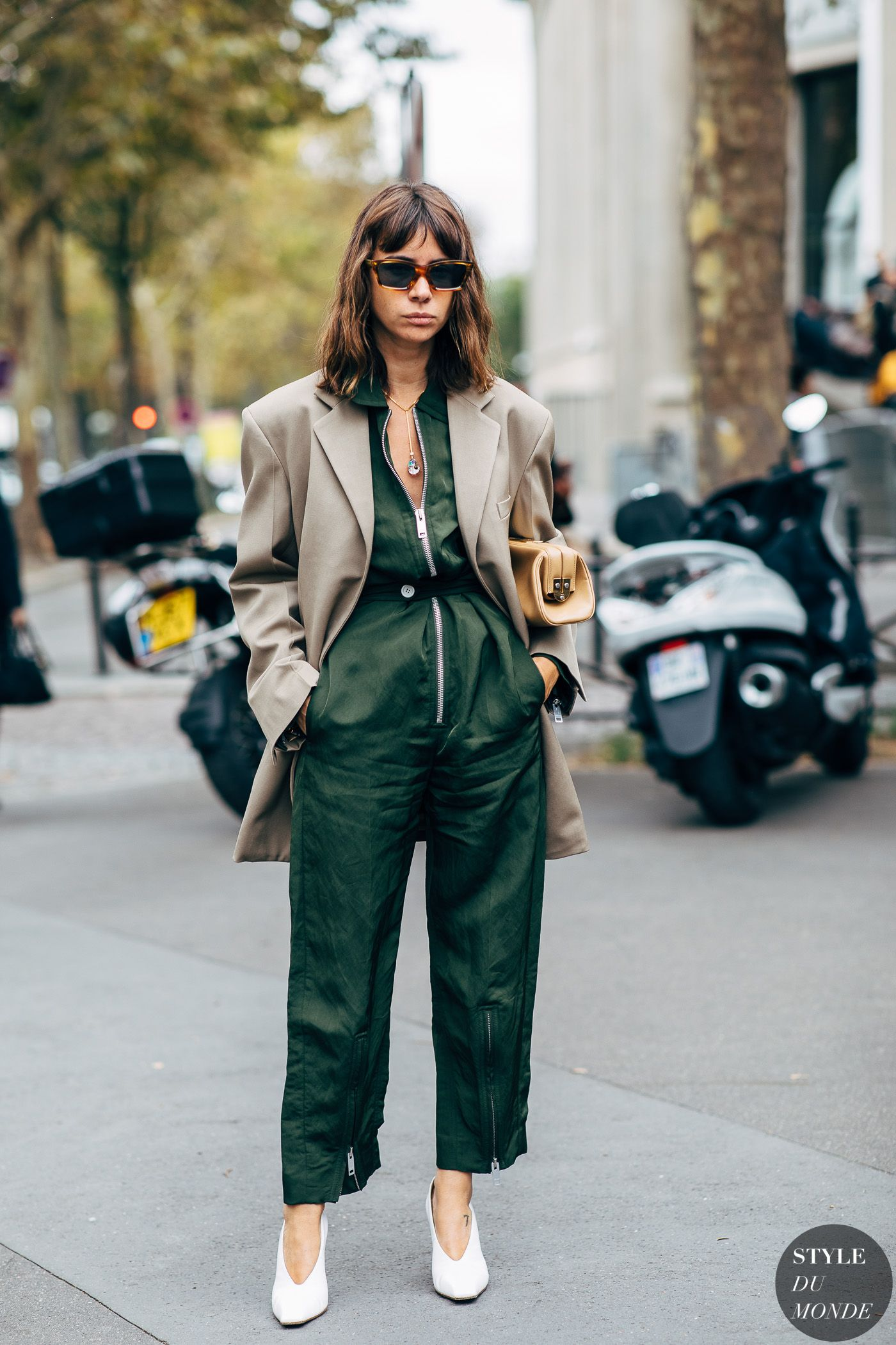 Paris SS 2019 Street Style: Natasha Goldenberg