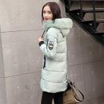 Parka Women Winter Coats Long Cotton Casual Fur Hooded Jackets Women Thick Warm Winter Parkas Female Overcoat Coat 2019 MLD1268 - Multi M