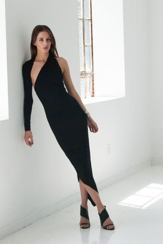 Party Dresses, Party Black Dress, Sexy Tight Dress, Dress For Women, Black Elegant Dress, Sexy Dresses, Long Dress, Selena Dress, MD0008