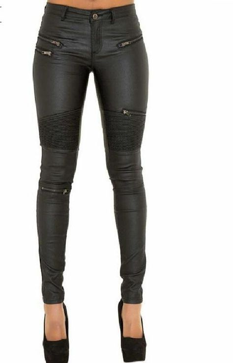 Perfect Fit Faux Leather Pants