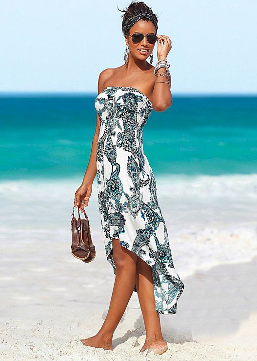 Perfect for a quick cover up for a stroll on the beach of add some chunk jewelry…