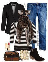 Plus Size Boyfriend Jeans Outfit Ideas – #boyfriend #Ideas #jeans #outfit #size