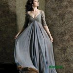 Plus Size Empire Long Yellow Evening Dresses Prom Party Formal Gowns J10