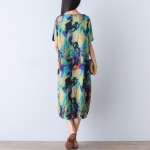 Plus Size Floral Oversized Linen Dress Brand new! Never worn.  This is meant to ...