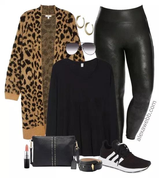 Plus Size Leopard Cardigan Outfit Ideas – Alexa Webb