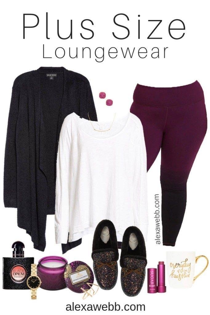 Plus Size Winter Lounge Wear