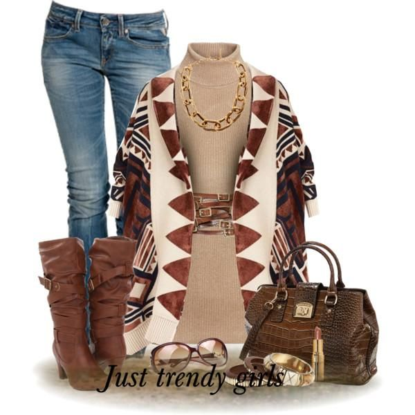 Ponchos are the most versatile fashion trend for fall and winter seasons; woman …