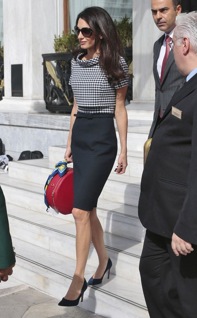 Power Suits from Amal Clooney's Best Looks