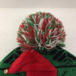 Pug Winter Hat Pom Pom Beanie Christmas Xmas Cap Pre-owned  PLEASE NOTE:  The li...