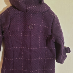 Pumkin Patch duffle coat.  K01 Punkin Patch Chelsea check duffle coat  12- 18 mo...