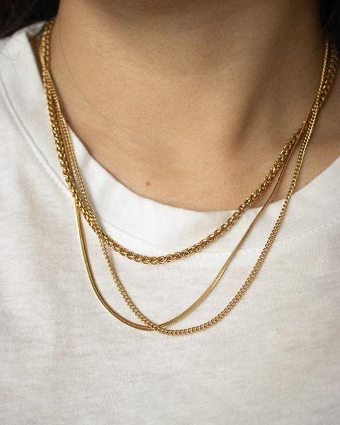 REPTILE Chain in Gold