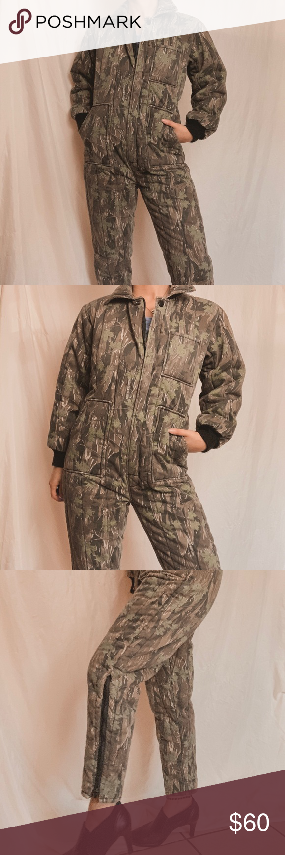 ROTHCO branch camo utility insulated jumpsuit ROTHCO Smokey branch camo utility …