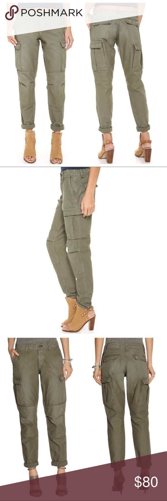 Rag & Bone The Combat Cargo Pants olive green, 25 These military-inspired Rag & …