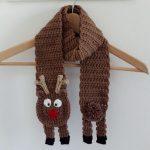 Ravelry: Reindeer Scarf pattern by Josie Bohlman
