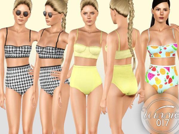 Retro Bikini by winnie017 – Sims 3 Downloads CC Caboodle