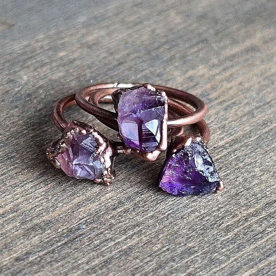 Rose Gold Ruby Ring / 14k Rose Gold Single Ruby 0.08ctw Engagement Ring / Ruby Gemstone Ring / Stacking Natural Ruby Ring / July Birthstone