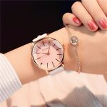 Round Dial Design Women Watch