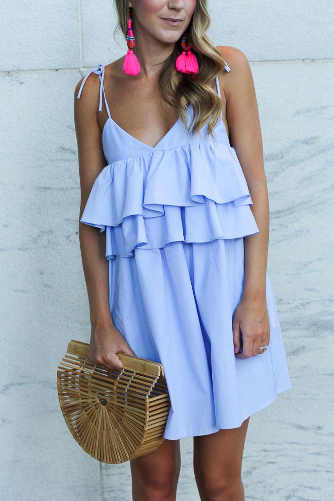 Ruffled Mini