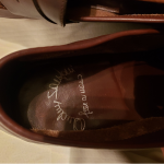 SANTONI SHOES Very nice preowned pair of size 12 brown shoes. They have been wor...
