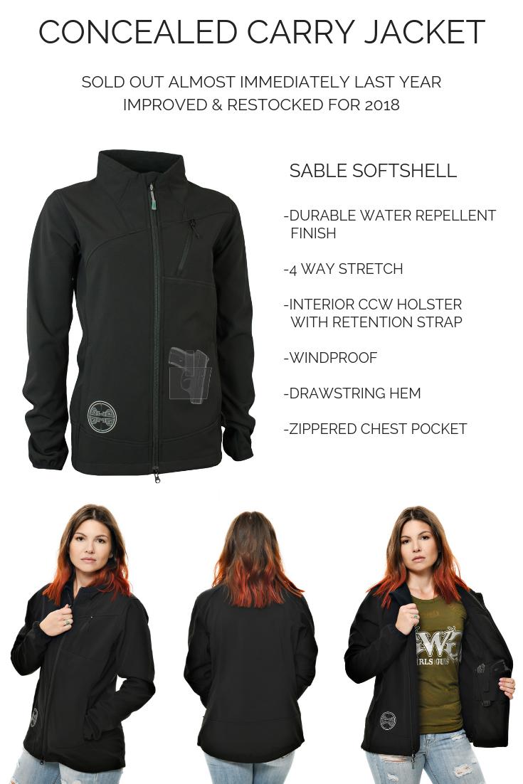 Sable Softshell Jacket | Black