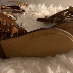 Sam Edelman Gladiator Shoes Never worn So cute  No box  100% Leather Imported Sy...