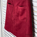 Sanctuary | Serina Faux Suede Skirt Revolve • color: Brooklyn brick • 2 fron...