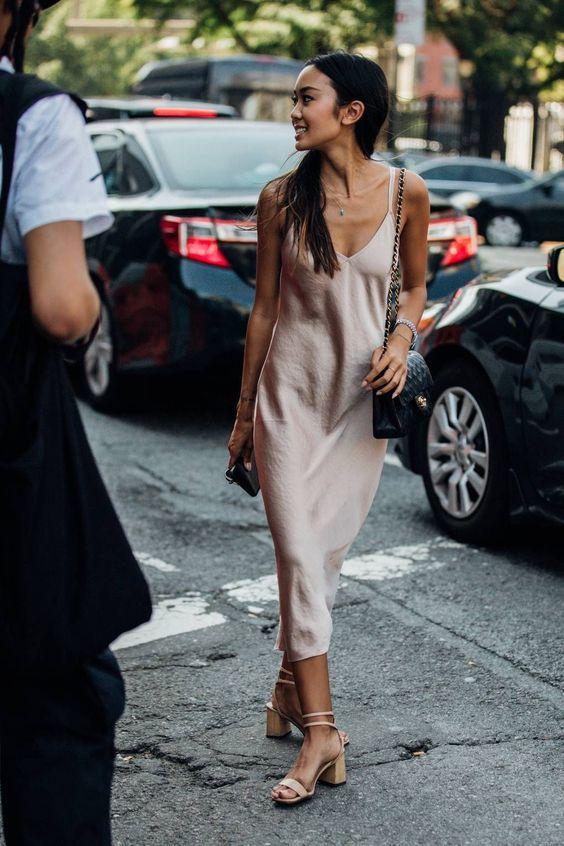 Sand beige bias slip dress Nude dress Naked dress Silk slip dress gold-beige Satin silk dress Silk clothing Sheryl Evening Sand Date dress