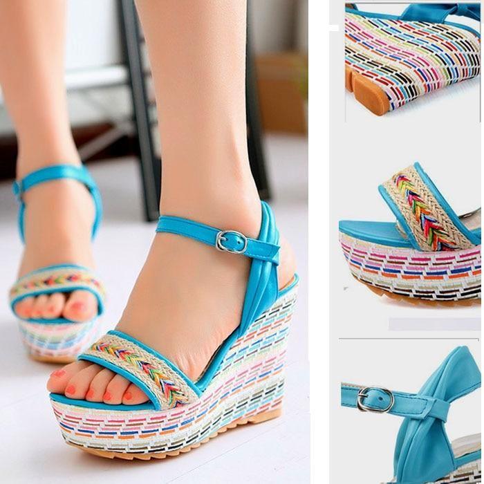 Sandals platform