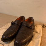 Santoni shoes Pre-owned but rarely wore unique classic and extremely hard to fin...