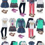 School Clothes for Girls - Mix and Match Outfits - Everyday Savvy