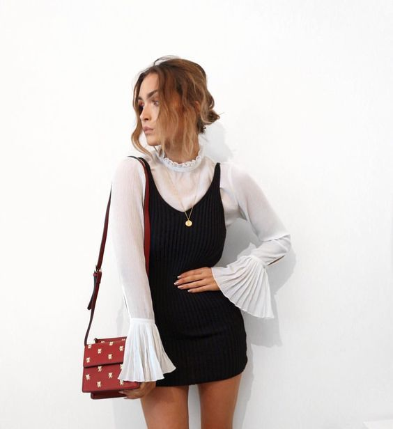 Schoolgirl outfit idea