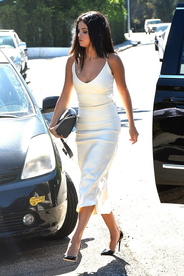 Selena Gomez Owns This Dress in 3 Colours