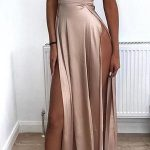 Sexy Long Prom Dress 8th Graduation Dress Custom-made School Dance Dress YDP0679