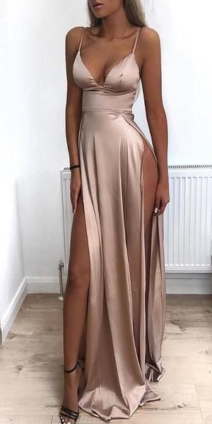 Sexy Long Prom Dress 8th Graduation Dress Custom-made School Dance Dress YDP0679