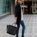 Shop this look on Lookastic: lookastic.com/... — Black Sunglasses — Black Op...
