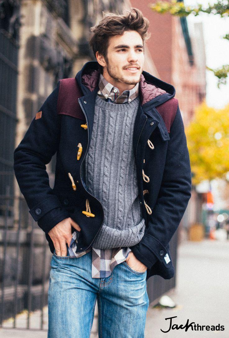 Shop this look on Lookastic:  lookastic.com/…  — Brown Gingham Long Sleeve S…