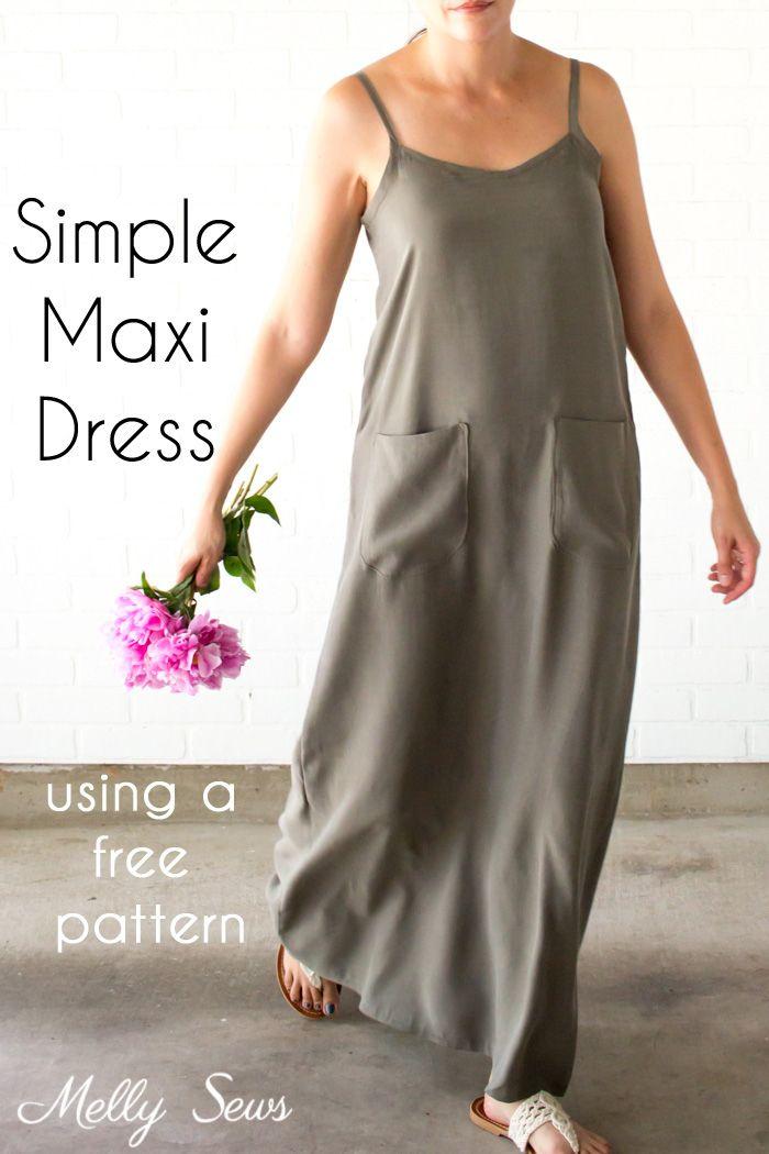 Simple Summer Maxi Dress