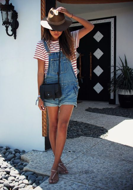 Sincerely Jules   Overall. Wearing Overalls. Overall outfit inspiration. How to …