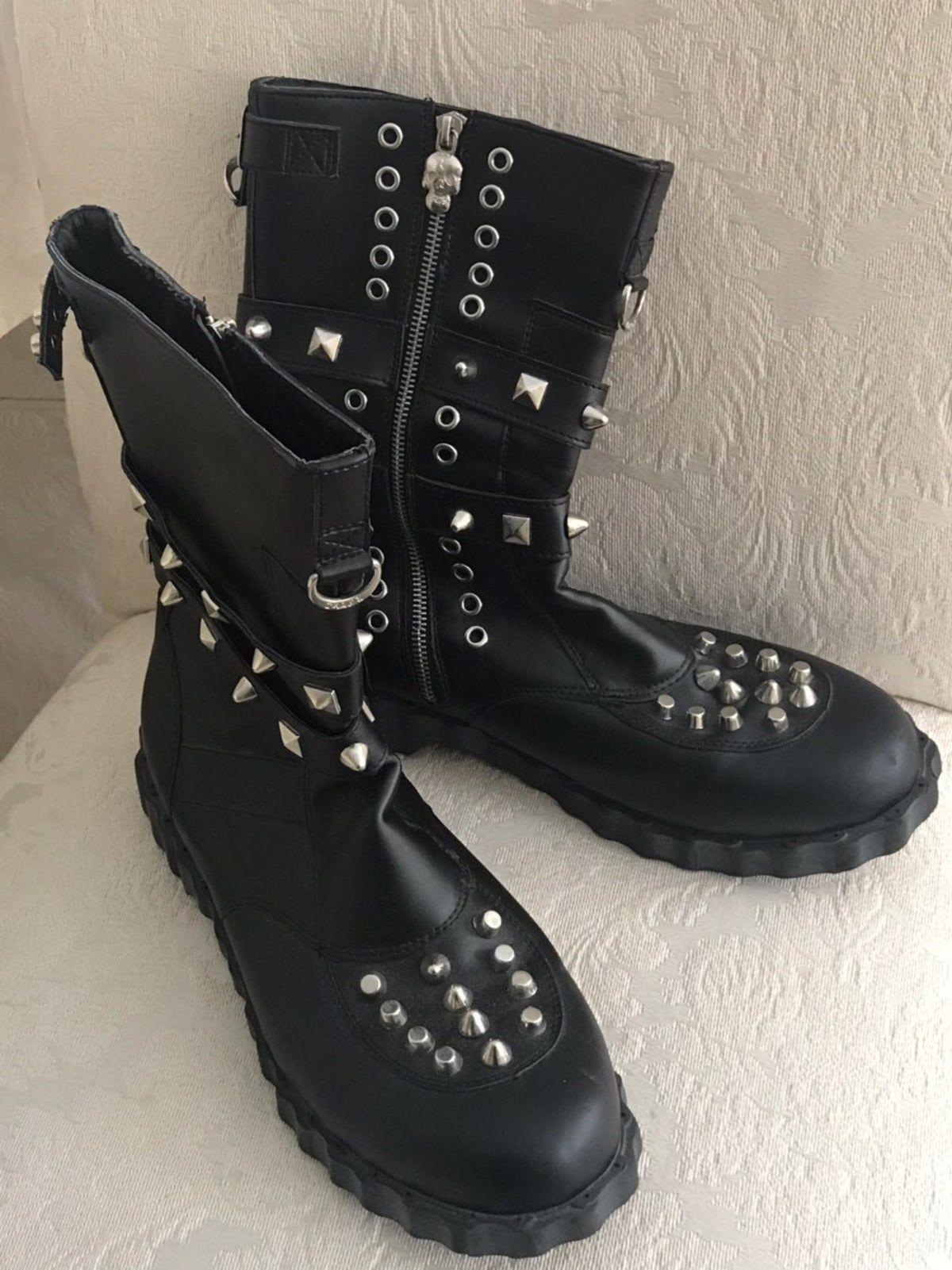 Size 11 Mens Biker Boots