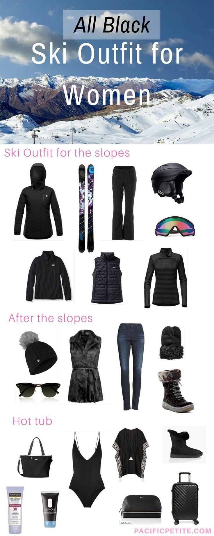 Ski-Outfits für Damen, was zum einpacken