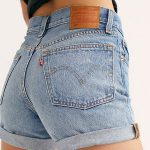 Slide View 1: Levi's 501 Long Denim Shorts