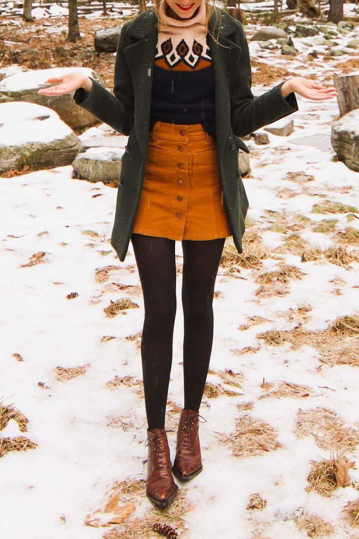 Snowy Winter Look