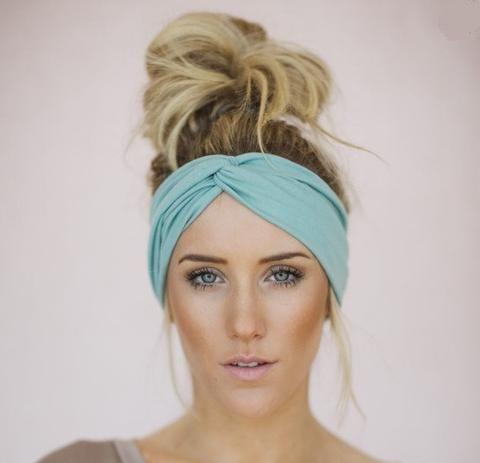 Solid Twist Boho Headband