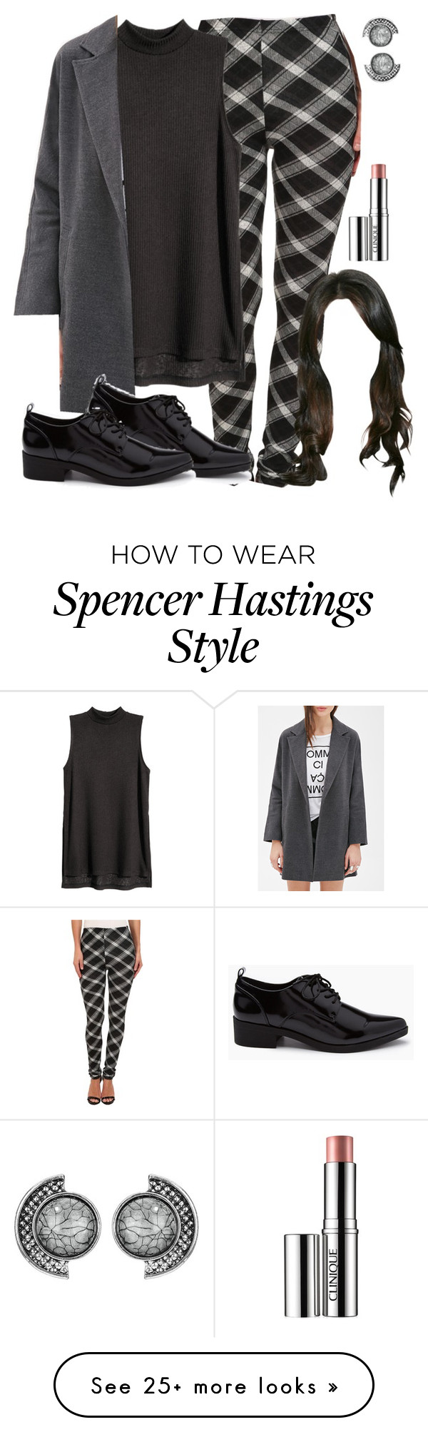 """Spencer Hastings soft grunge inspired outfit"" by liarsstyle on Polyvore featuri…"