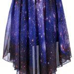Starry Night Asymetric Skirt