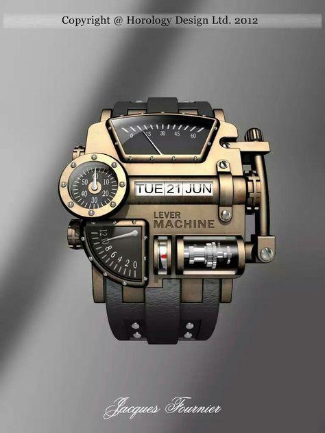 Steampunk Wrist Watches